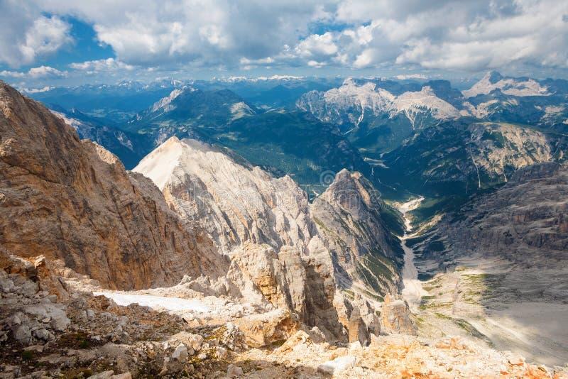 Bianca Peak, Italia imagenes de archivo