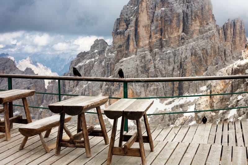 Bianca Peak, Italia foto de archivo