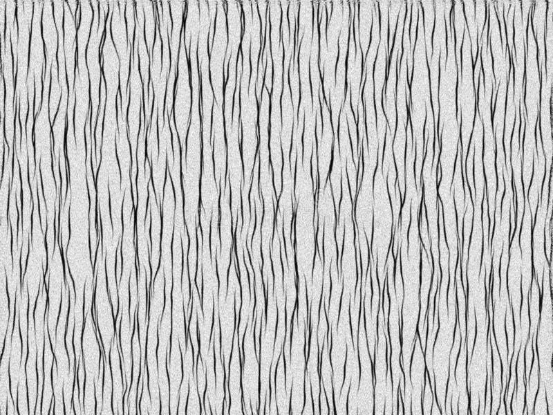 Bianco animale della tigre di struttura della pelliccia illustrazione vettoriale