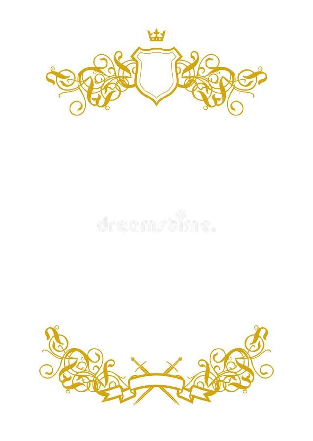 Bianco in bianco II illustrazione vettoriale