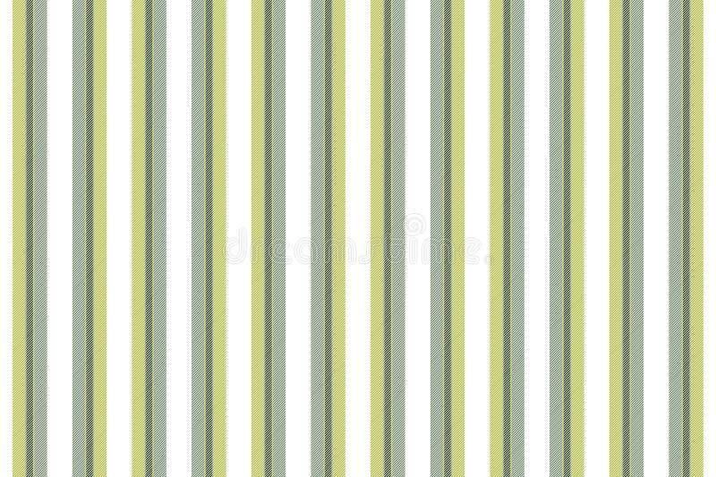 Bianco con il modello senza cuciture di struttura delle linee verde royalty illustrazione gratis