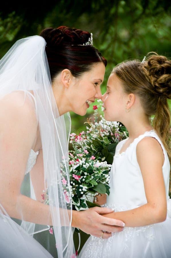 bianco della sposa immagini stock libere da diritti