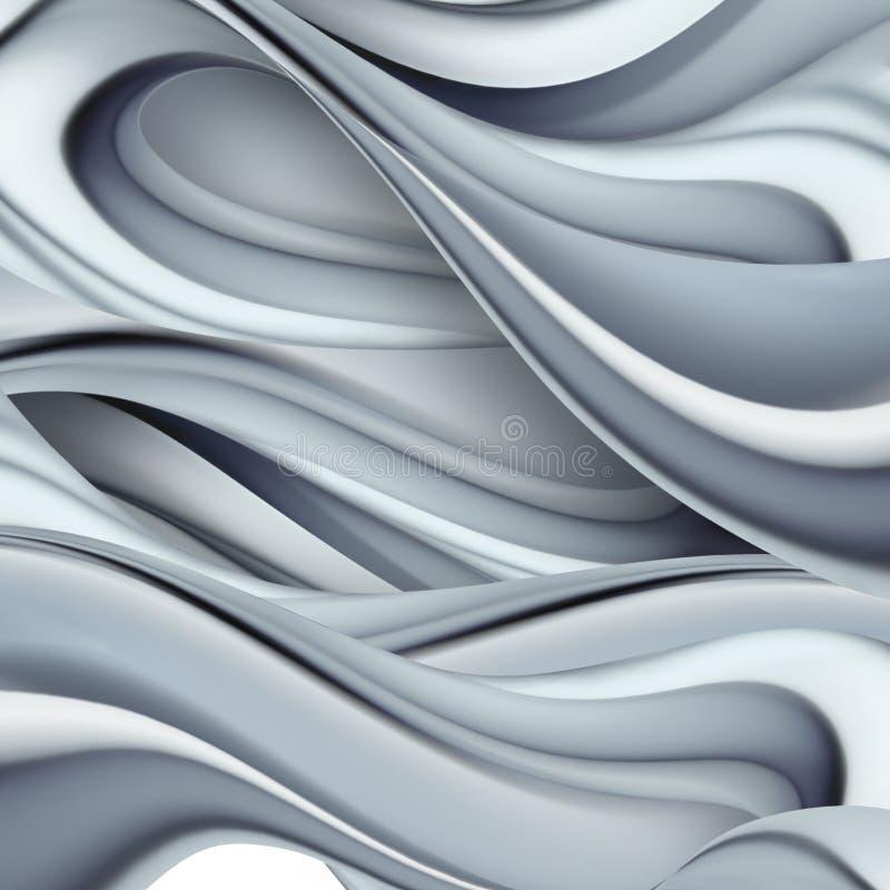Bianco ed il nero illustrazione vettoriale