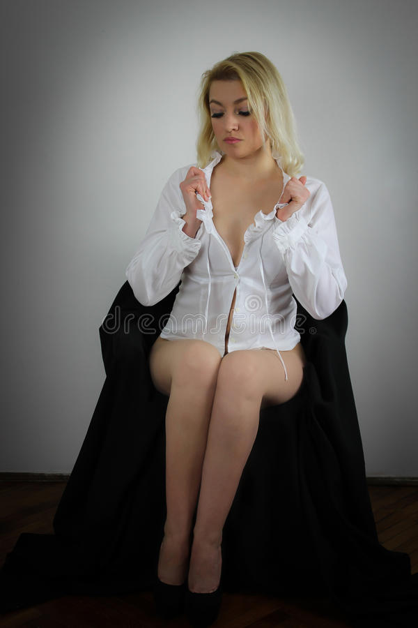 Bianco ed il nero fotografia stock