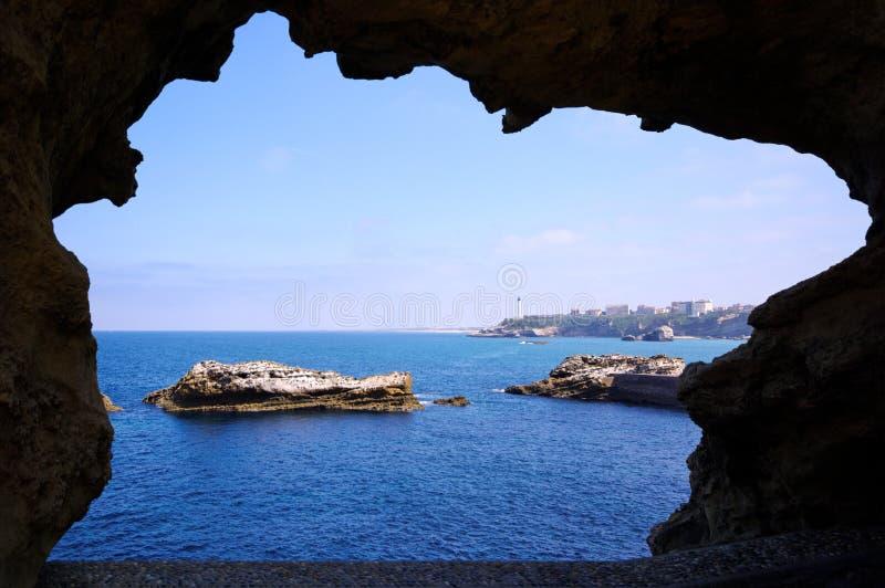 biarritz żakiet zdjęcia royalty free