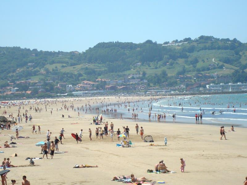 Biarritz stockfotografie