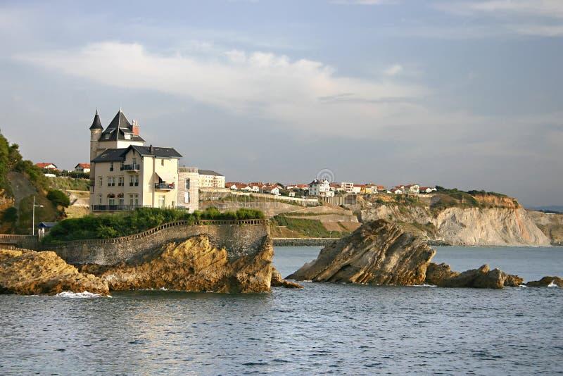 Biarritz immagini stock