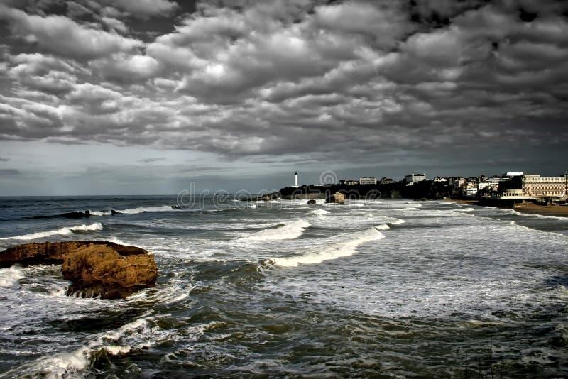 Biarritz royalty-vrije stock foto