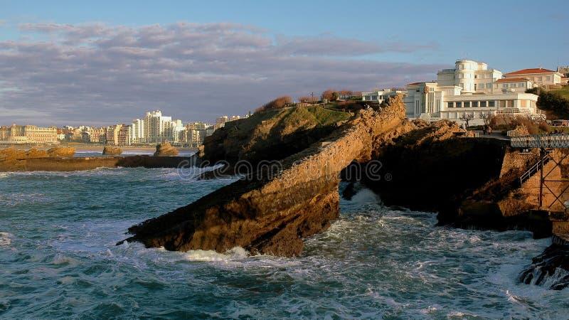 Biarritz imágenes de archivo libres de regalías