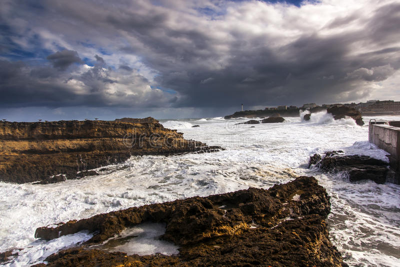 Biarritz obrazy stock