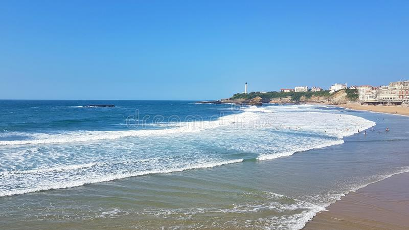Biarritz photo stock