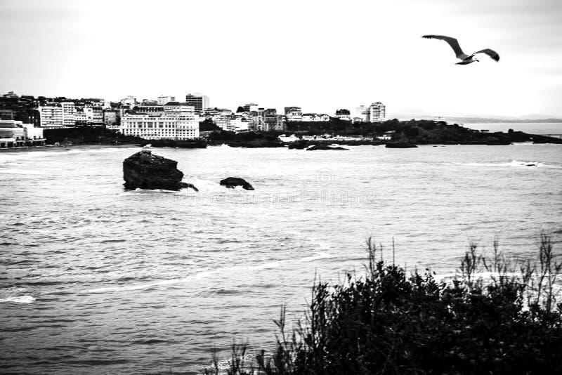 Biarritz - Frankreich stockfoto