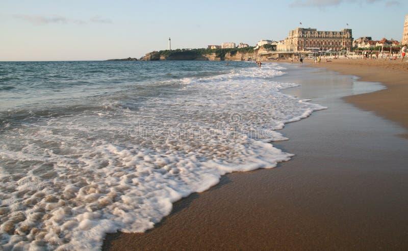 Biarritz, Frankrijk royalty-vrije stock fotografie