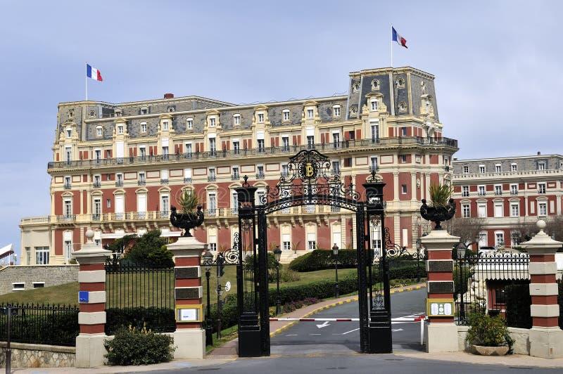 Biarritz royalty free stock image