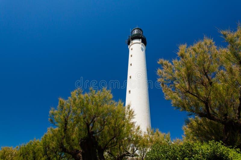 Biarritz Lighthouse stock images