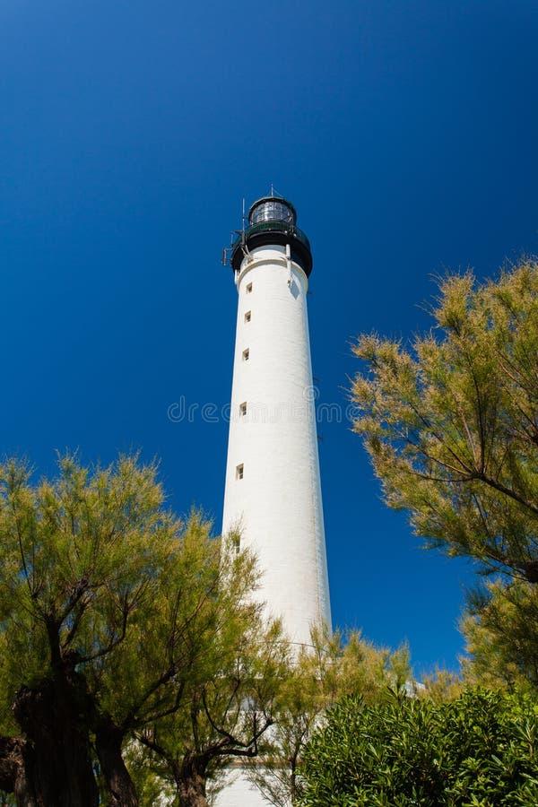 Biarritz Lighthouse royalty free stock photo