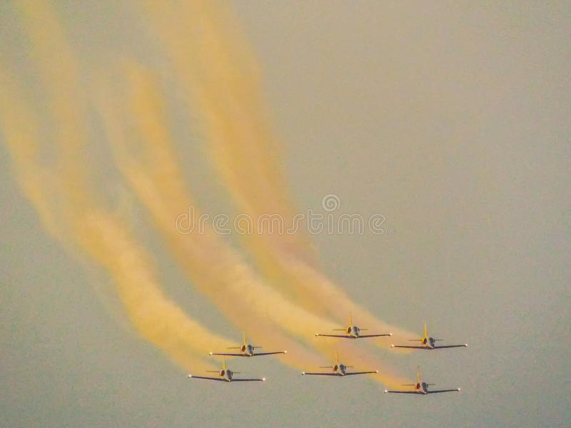 Bias ,bucharest international air show royalty free stock images