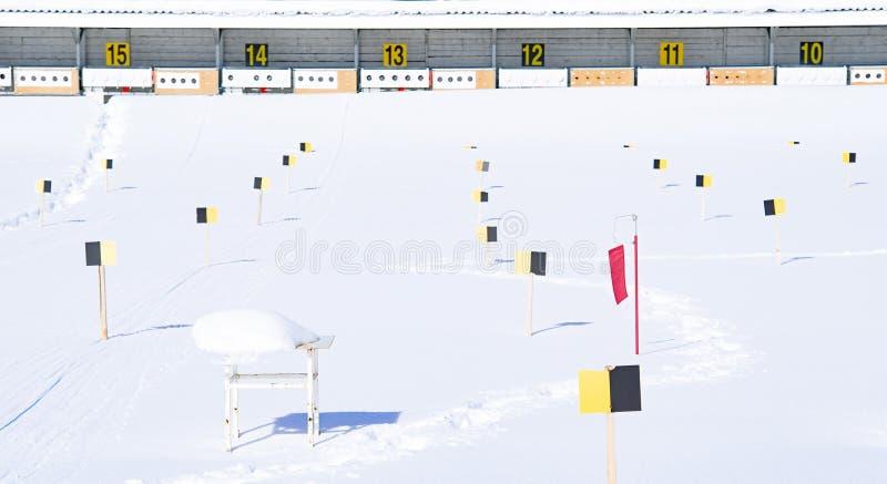 biathlon images libres de droits