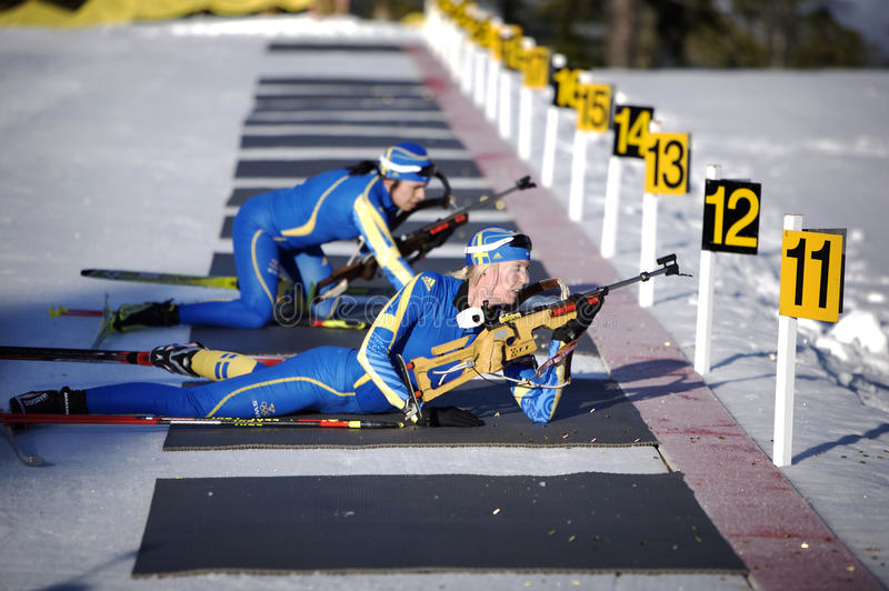Download Biathlon editorial image. Image of sports, competition - 12944950