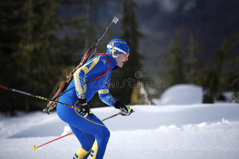 Download Biathlon editorial image. Image of olympian, compete - 12957510