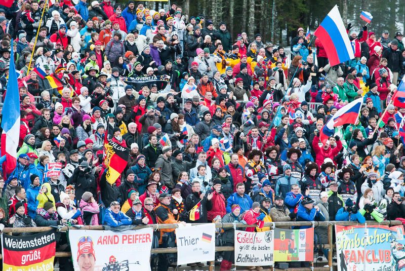 Biathlon image stock