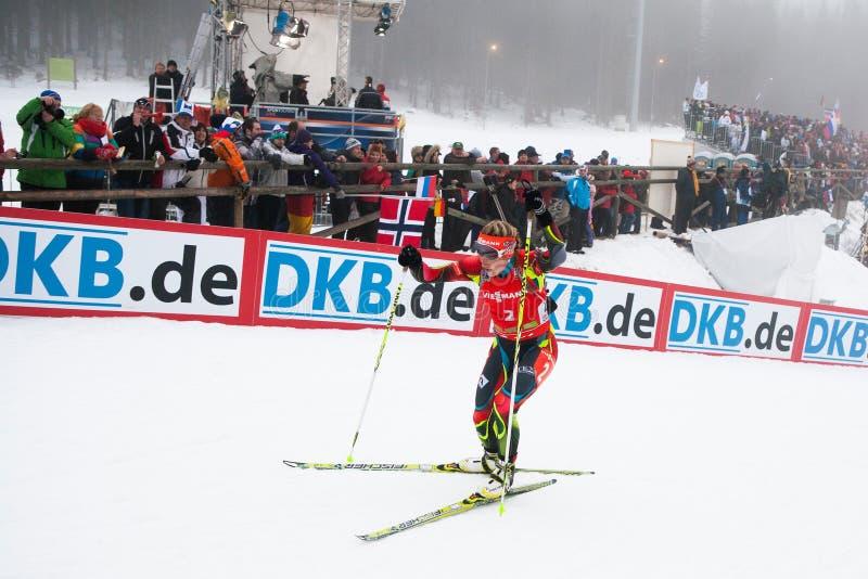 Biathlon arkivbilder