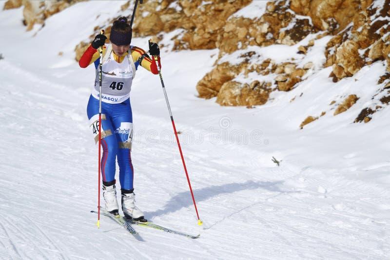 Biathlon fotografía de archivo