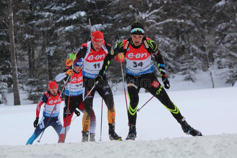 biathlon photo stock