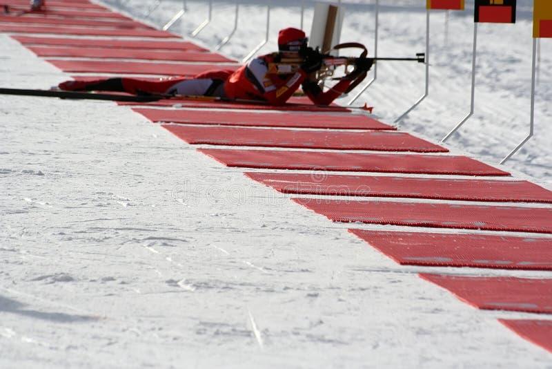 Biathlon stock photography