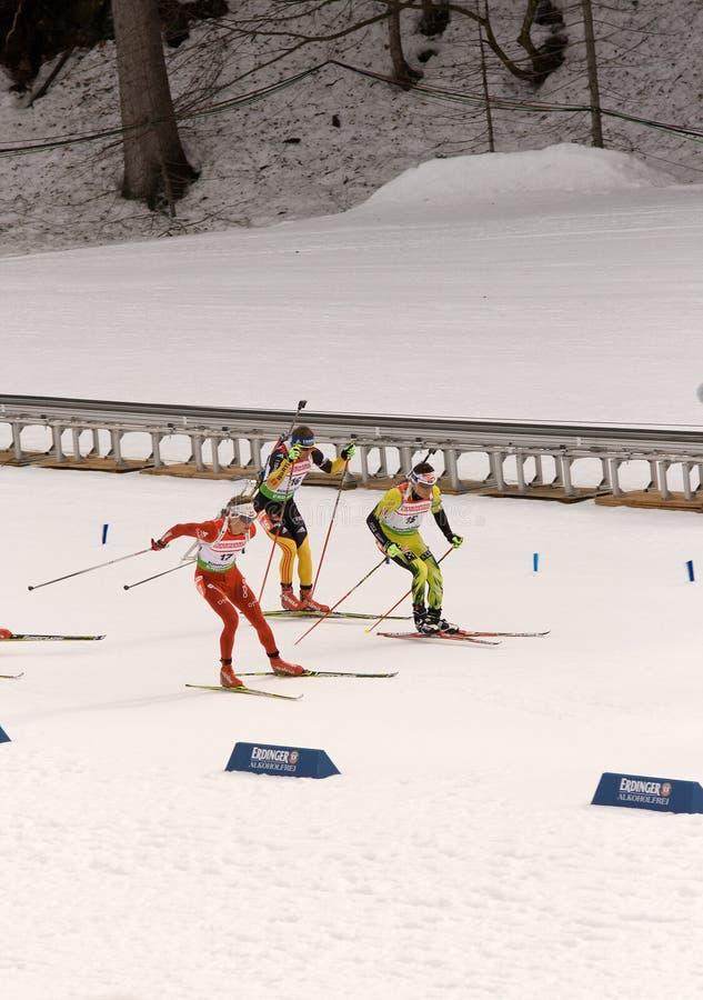 biathlonmästerskapvärld 2012 arkivbilder