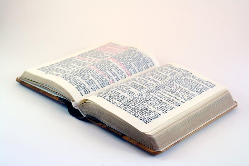 Bibbia fotografie stock libere da diritti