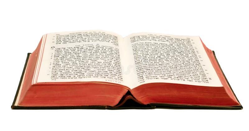 Bibbia ebraica immagini stock