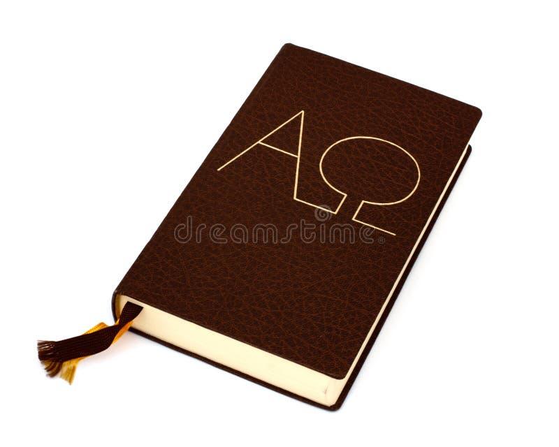 Bibbia isolata fotografie stock libere da diritti
