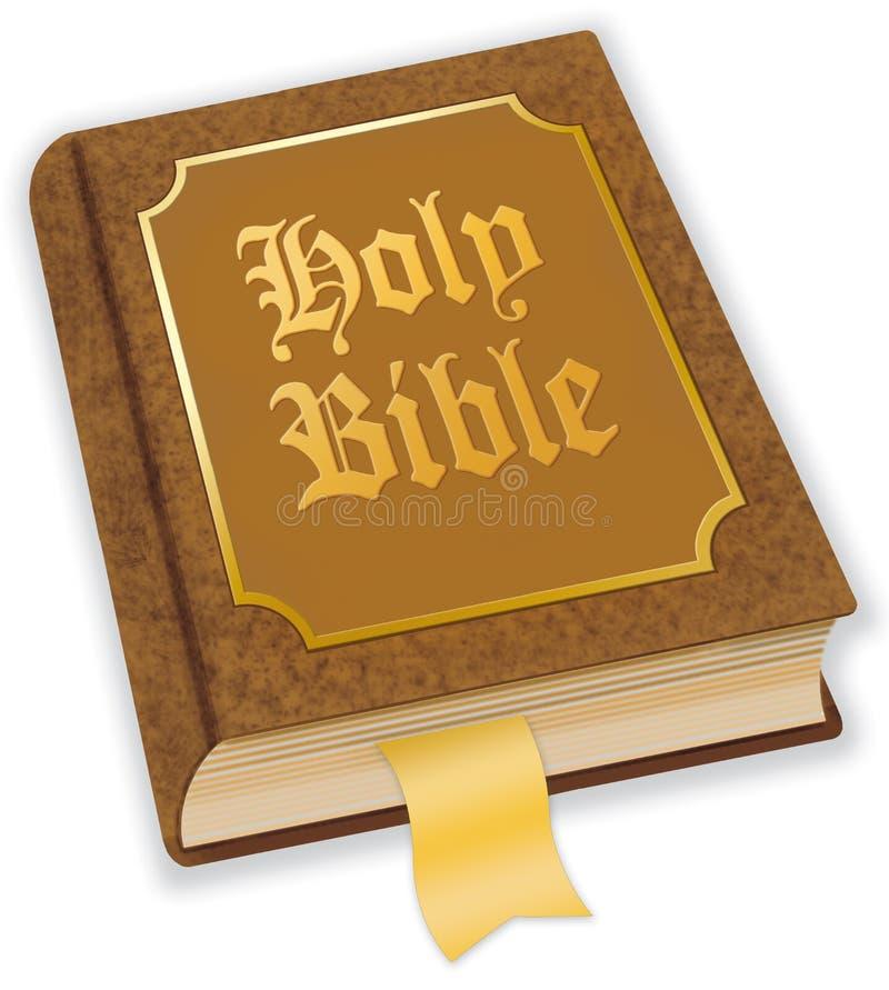 Bibbia santa illustrazione di stock