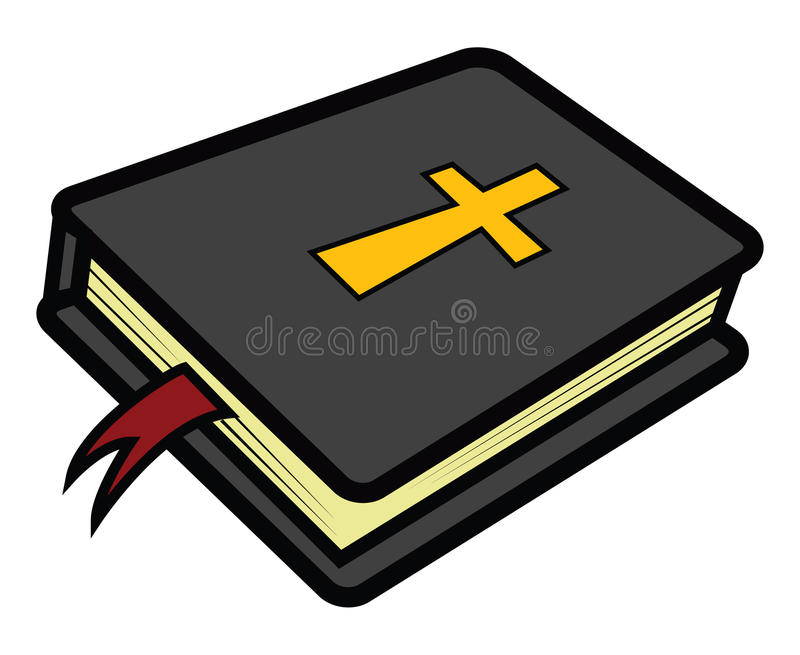 bibel stock illustrationer