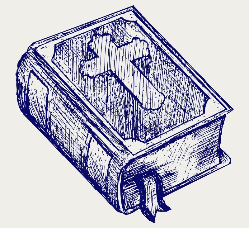 Bibel royaltyfri illustrationer