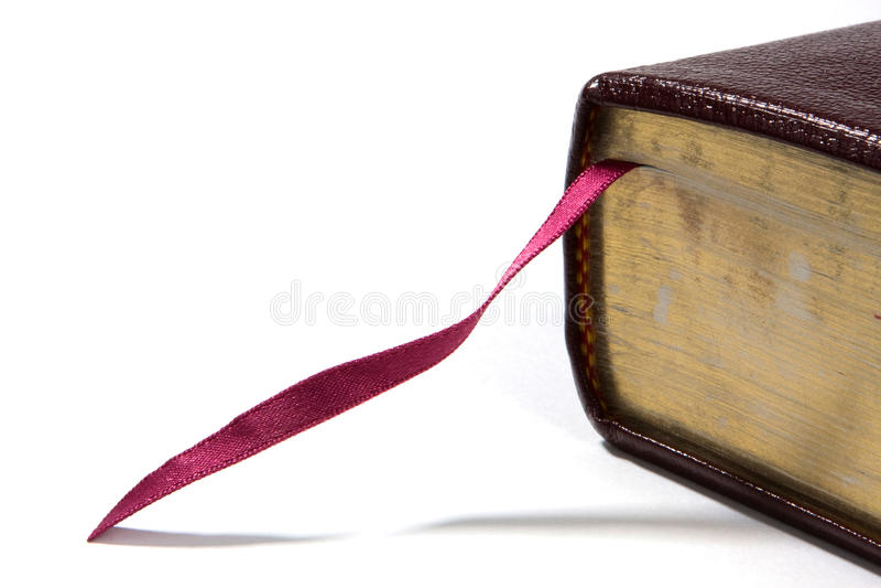 Bibel-Bookmark stockfotografie