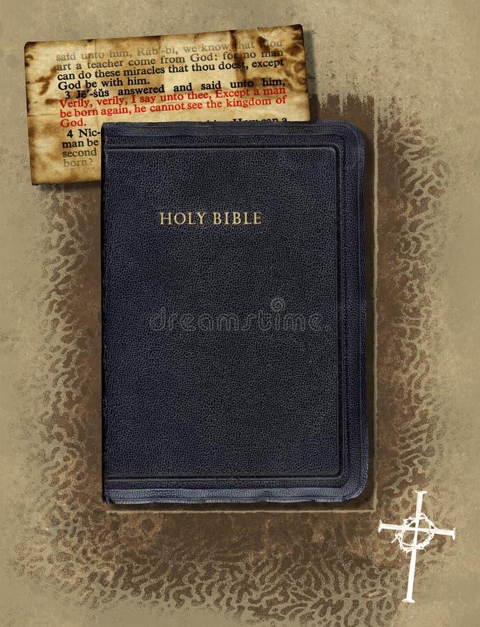 Bibel-Collage vektor abbildung