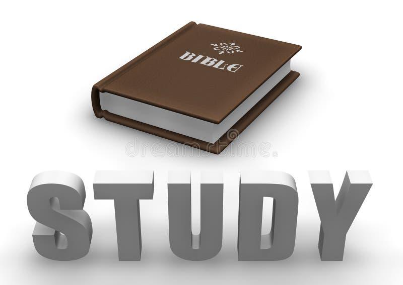 Bibel-Studie stock abbildung