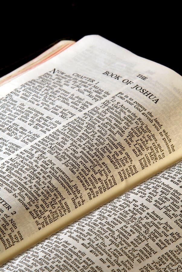 bibeljoshua serie arkivfoto