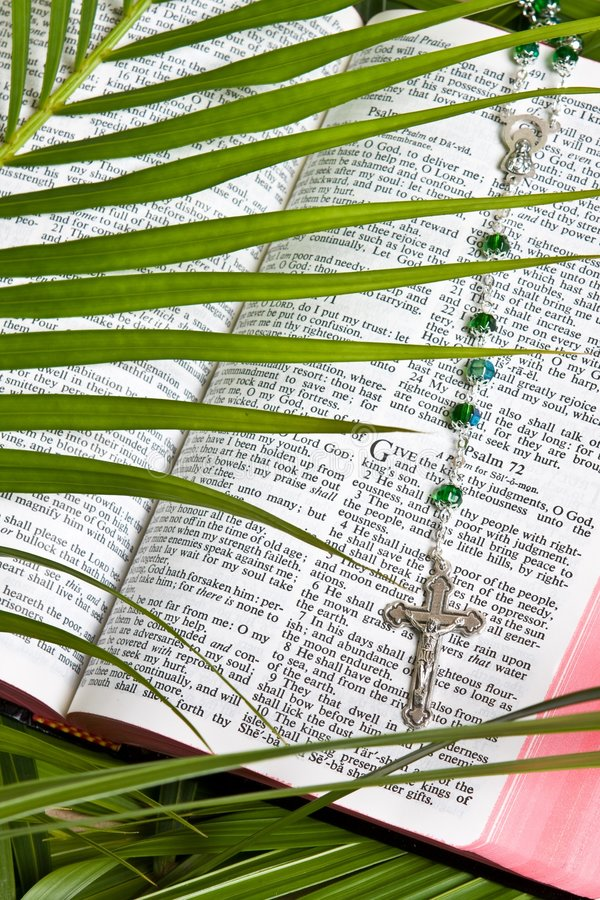 bibelkristendomenradband arkivfoto