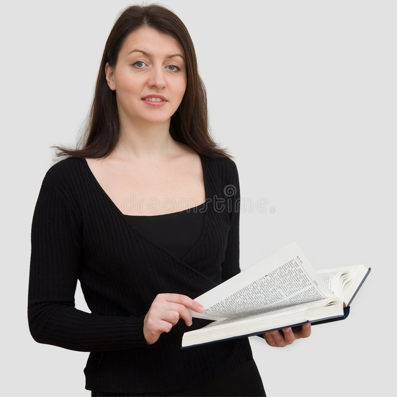 bibelkvinna royaltyfri bild