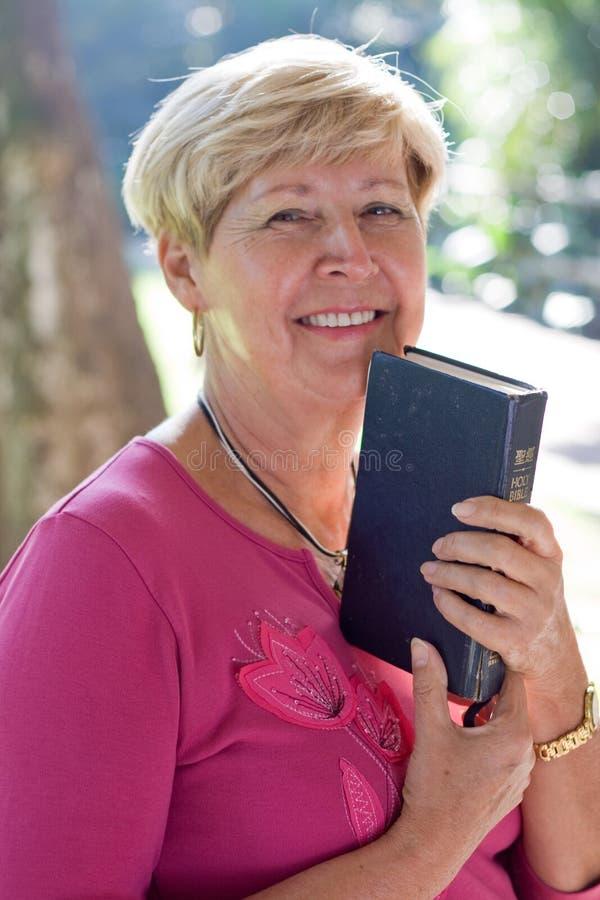 bibelkvinna royaltyfria bilder