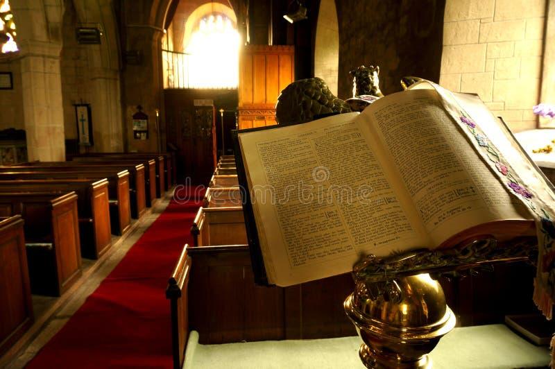 Bibeln kyrktar in A royaltyfria foton