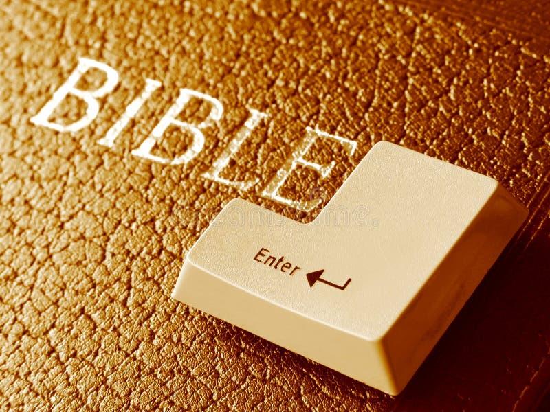bibeln skriver in