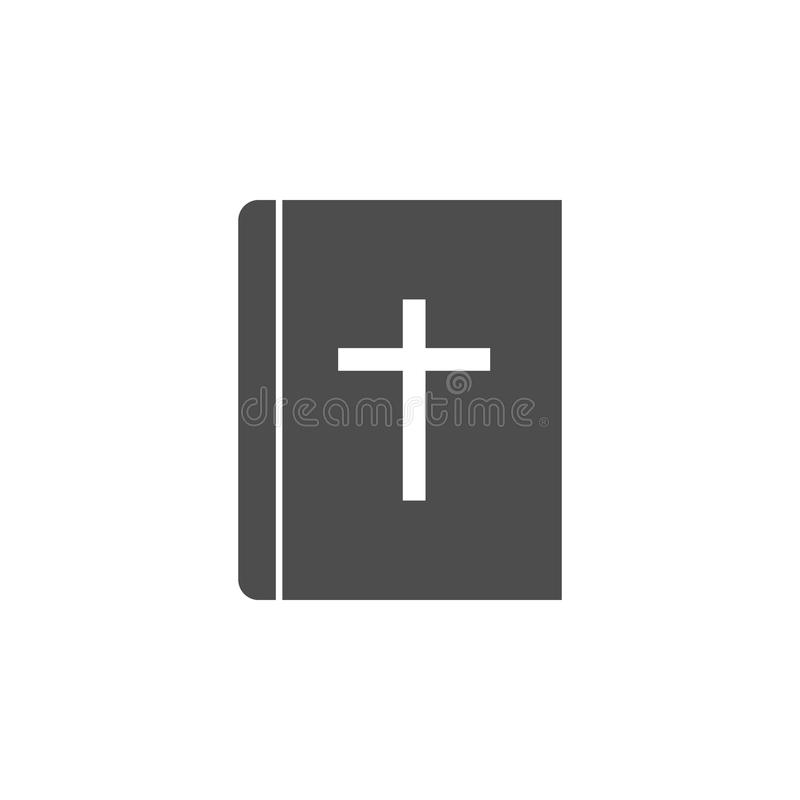 Bibelsymbol Beståndsdelar av rengöringsduksymbolen Högvärdig kvalitets- symbol för grafisk design Tecken och symbolsamlingssymbol royaltyfri illustrationer