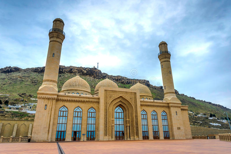 Bibi Heybat meczet, Baku zdjęcia stock