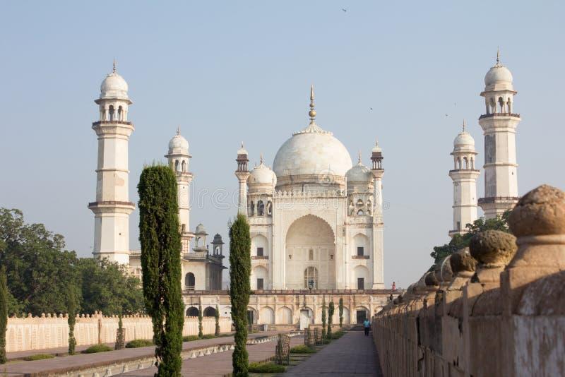 Bibi-Ka Maqbara in Aurangabad, Indien lizenzfreie stockbilder