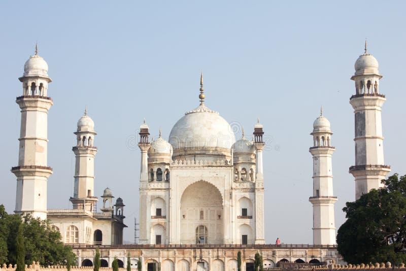 Bibi ka Maqbara i Aurangabad, Indien arkivfoton
