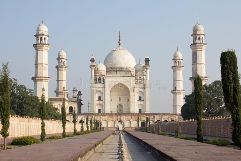 Bibi ka Maqbara i Aurangabad, Indien fotografering för bildbyråer